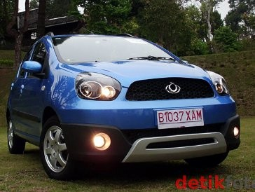 Geely LC Cross, Crossover Mungil China
