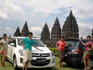Ara Bergaya Bareng New Mazda8