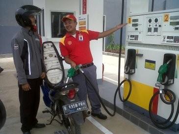 SPBU Khusus Motor Pertama di Indonesia
