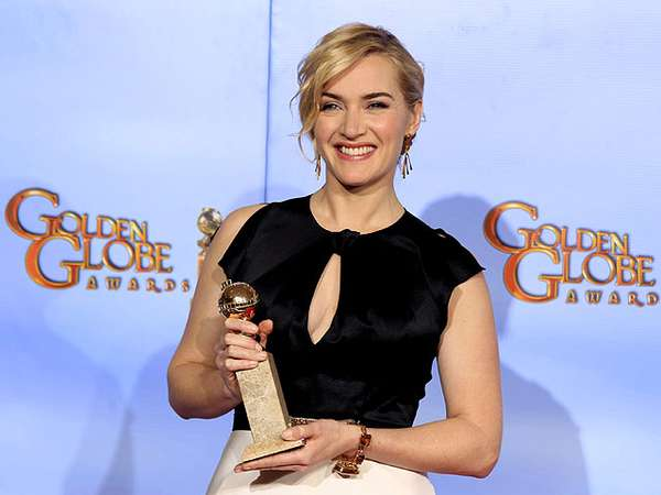 Kate Winslet Raih Golden Globe 2012