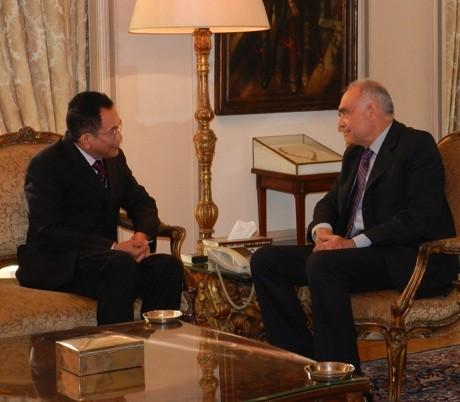 Komjen Pol Nurfaizi Mulai Emban Tugas Dubes RI untuk Mesir