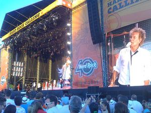 Jakarta Jadi Konser Pertama Legenda Hidup Rod Stewart di 2012