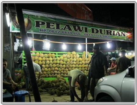 Kedai Durian Pelawi Medan