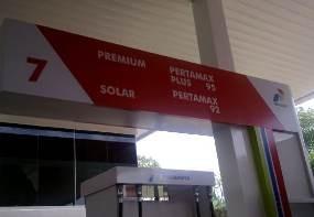 Tanpa Subsidi, Harga Bensin Premium dan Solar Rp 8.400/Liter