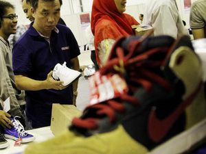 Antre Sepatu di Balai Kartini