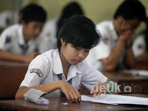 Hari Pertama Ujian Nasional