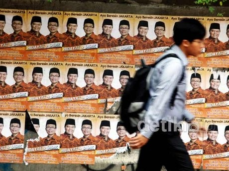 Perang Poster dan Iklan, KPU DKI Ingatkan Cagub Agar Beretika