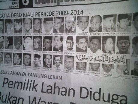 Koran Riau: 2 Tahun Memuat, Baru Kali Ini Salah