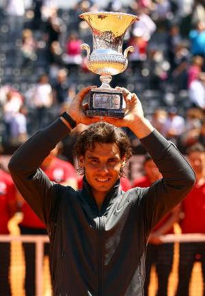 Tundukkan Djokovic, Nadal Juara Roma Masters