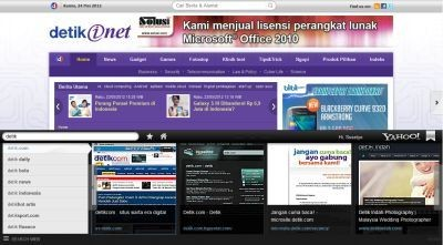 Tampilah Yahoo Axis