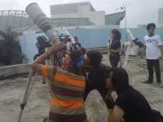 Pengunjung Planetarium Jakarta Antusias Amati Transit Venus