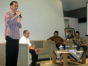 Jokowi Janji Perhatikan Nasib Pedagang Kecil