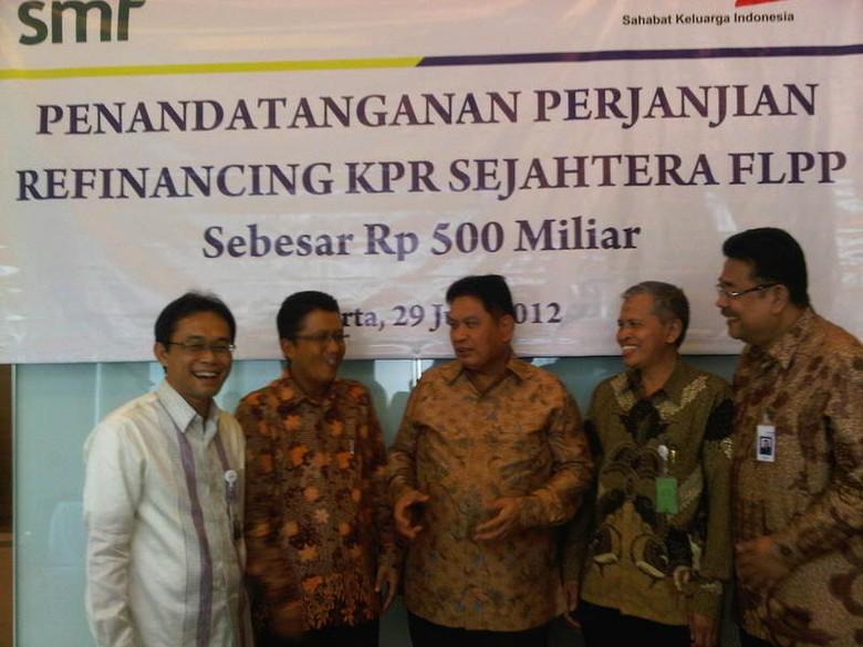 SMF Refinancing KPR FLPP Rp 500 Miliar