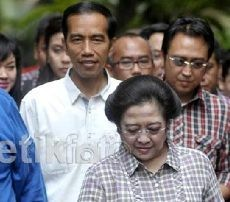 Jokowi Dominasi TPS Megawati, Tepuk Tangan Membahana