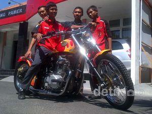 Moge Chopper Ala SMK Ponorogo