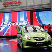 Honda Brio Diluncurkan Dengan Spektakuler
