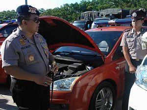 Kesiapan Kendaraan Patroli Lebaran Diperiksa