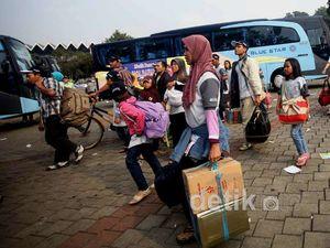 12.000 Orang Mudik Gratis Bareng Jasa Raharja