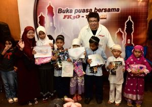 FK3O Buka Bersama Anak Yatim