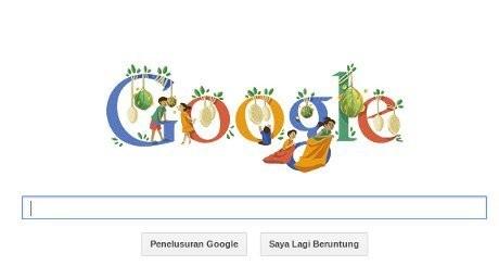 Screenshot Google Doodle
