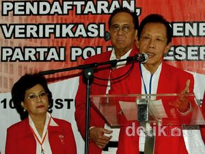 Bang Yos Kawal PKPI Daftar Pemilu 2014