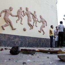 Kantor Asosiasi Sepakbola Mesir Diserang Massa