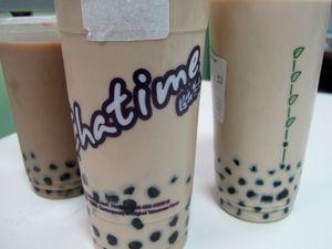 Ah... Nikmat Segar Bubble Milk Tea Di Sore Hari!