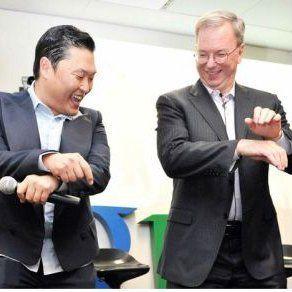 Bos Google Pun Ikut Bergoyang Gangnam Style