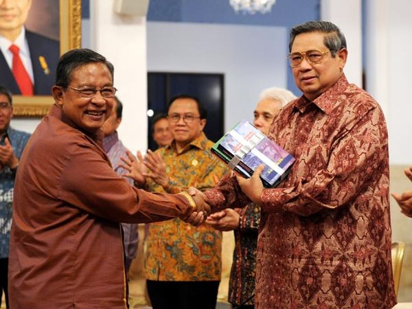 Presiden SBY Menerima Pengurus Pusat ISEI