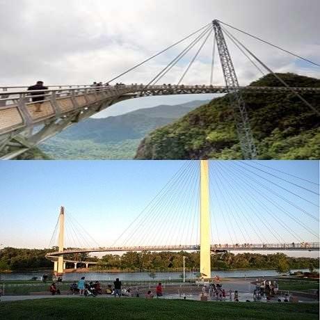 Kerennya 10 Jembatan Penyeberangan Orang Ini!