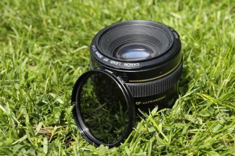 Canon EF 50mm f/1.4 USM Lens and Hoya PL-Cir Polariser 58mm filter (GettyImages)