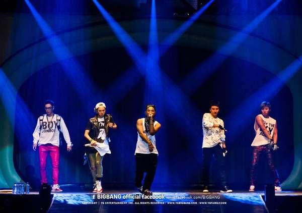 Konser Fantastis Bigbang di Jakarta