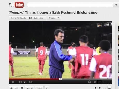 Video Tim KPSI Salah Kostum di Australia