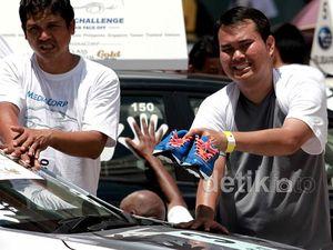 Peserta Subaru Palm Challenge Terbakar Matahari