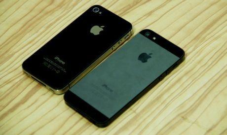 iPhone 5 vs iPhone 4S (Sha/ inet)