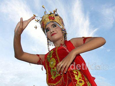 Parade Gandrung Sewu di Banyuwangi