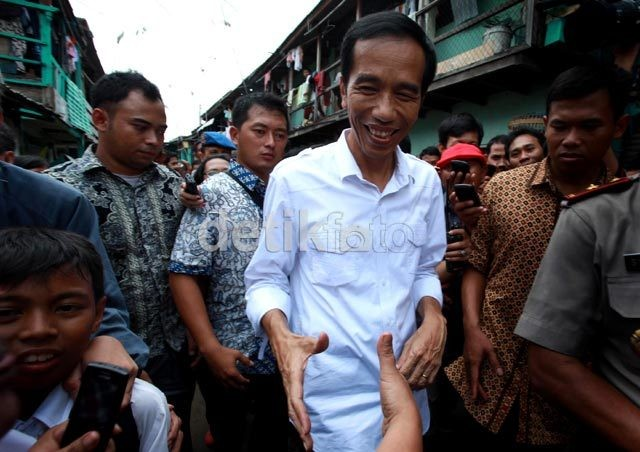 Jokowi: Normalisasi Kali Pesanggrahan akan Dipercepat