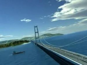 Letusan Dahsyat Anak Krakatau 400 Tahun Lagi, Jembatan Selat Sunda Aman