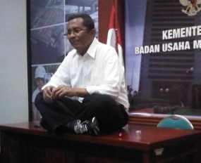 Usai Temani SBY, Dahlan Iskan Siap Rapat di DPR Besok