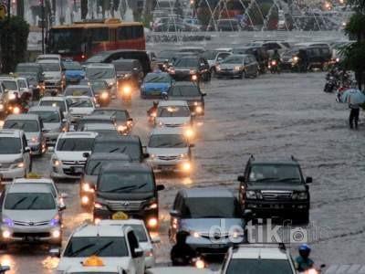 Tahun Baru, Jakarta Diperkirakan Diguyur Hujan Deras
