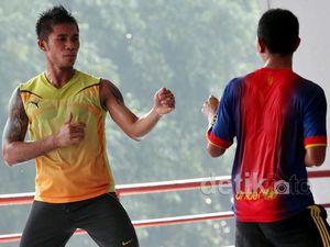 Persiapan Atlet Pelatnas Karate Jelang Piala KSAD
