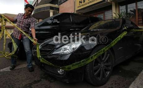 Ini Mobil Mewah Pengedar Narkoba di Cengkareng Jakbar