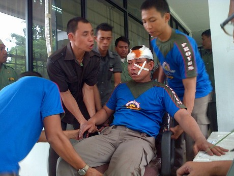 Kantor Wali Kota Medan Diserang Massa, 1 Anggota Satpol PP Terluka