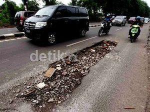 Kecelakaan Akibat Jalan Rusak Jadi Tanggung Jawab Kementrian PU