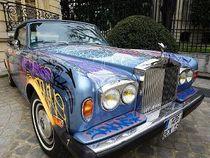 Eric Cantona Rela Rolls-Royce Miliknya Dicorat-coret