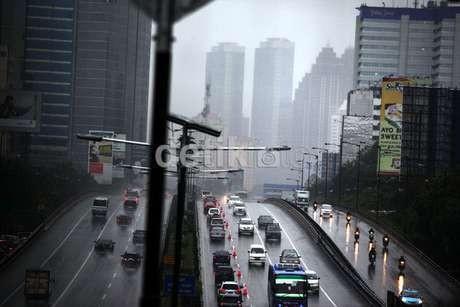 BMKG: Jakarta Hari Ini Diguyur Hujan