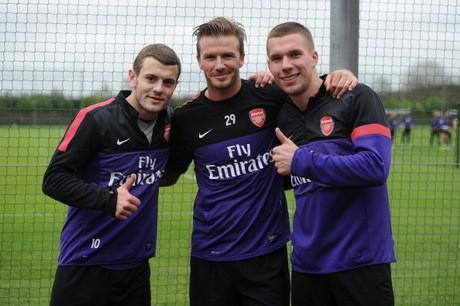 Wenger: Beckham Akan Menginspirasi Pemain Muda Arsenal