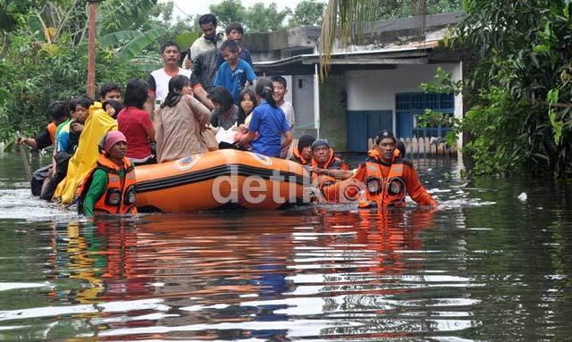 Januari 2013, Indonesia Dirundung 119 Bencana