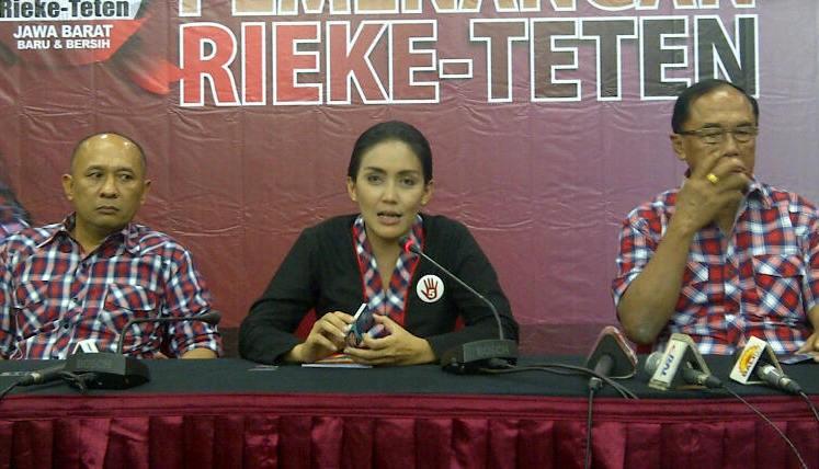 PDIP Yakin Rieke-Teten Menang 1 Putaran di Pilgub Jabar