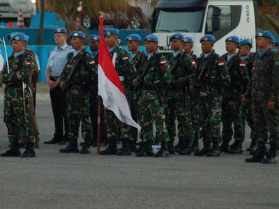 15 Prajurit TNI Ikuti Farewell Ceremony SRSG di Haiti